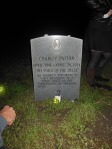 Delta Blues Man Charley Patton's gravestone in Indianola, Mississippi