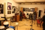 We recorded in legendary Sun Studios in Memphis